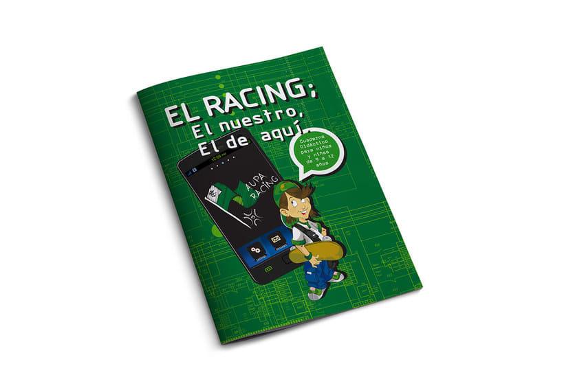 Manuales infantiles -EL RACING; el nuestro, el de aquí-Nuevo proyecto 1