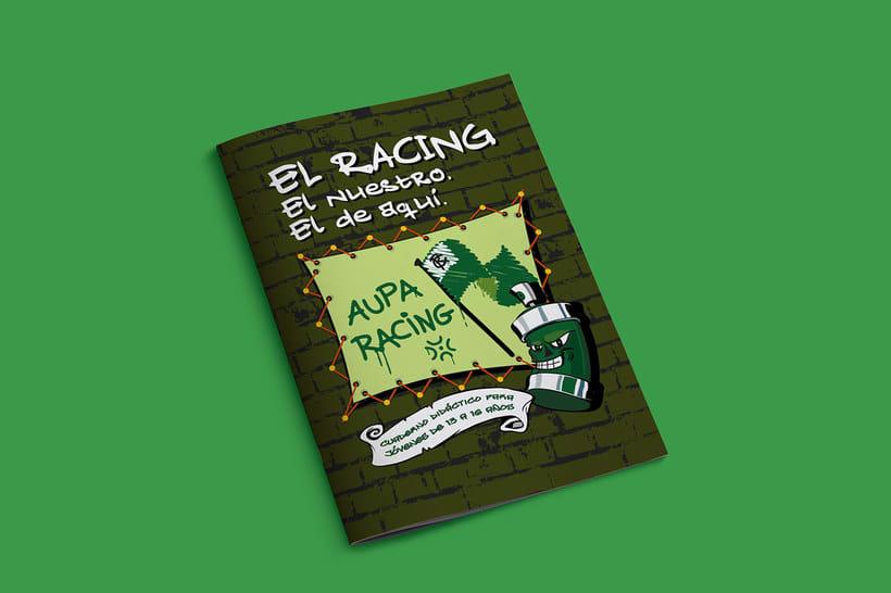 Manuales infantiles -EL RACING; el nuestro, el de aquí-Nuevo proyecto 2