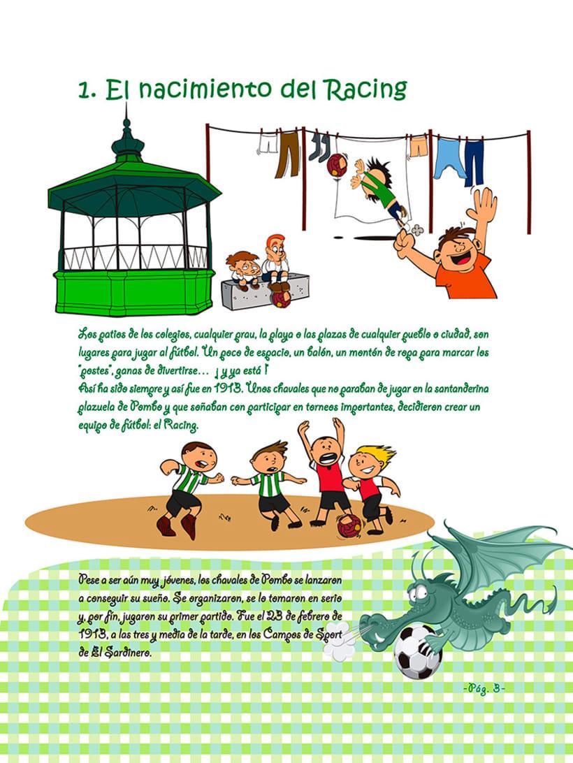 Manuales infantiles -EL RACING; el nuestro, el de aquí-Nuevo proyecto 20