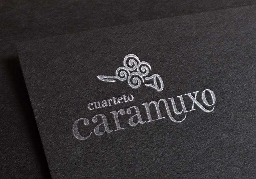 Logotipo Cuarteto Caramuxo  1