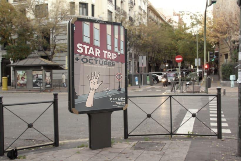 """Poster de presentación """"Star Trip"""" 0"""