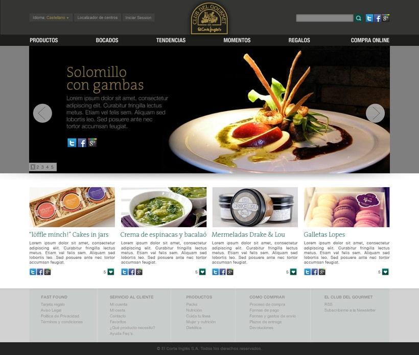El Corte Ingles: Club Gourmet -1