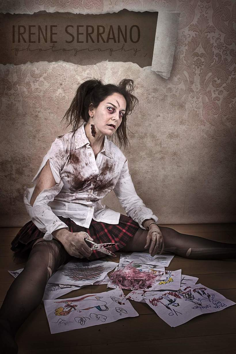 FOTOGRAFIA DE FANTASÍA. Make up/Estilism/Photo & edition by me 0