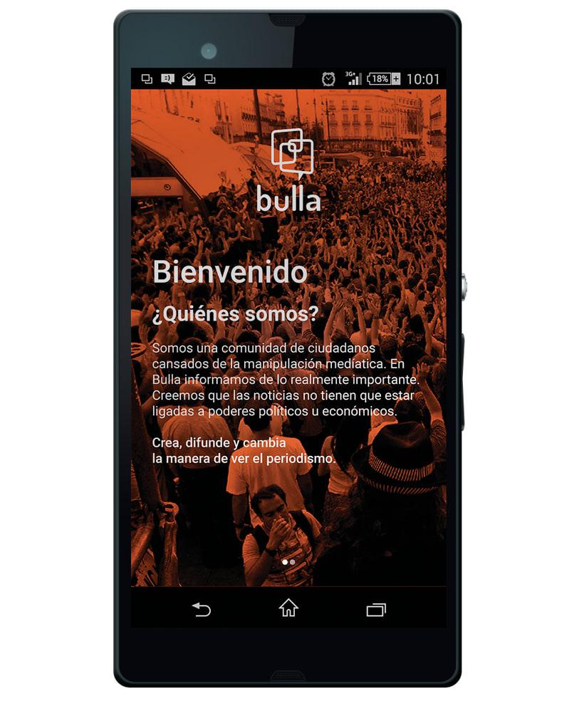 Bulla, red social de periodismo ciudadano 1