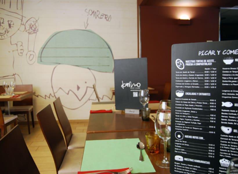 Cartas Restaurante Dommo 1