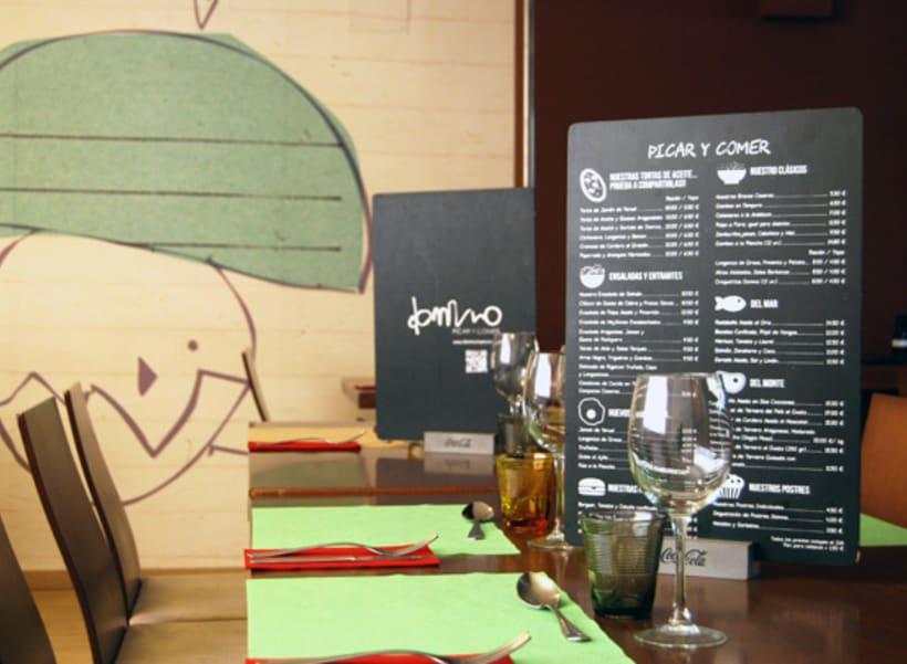 Cartas Restaurante Dommo 2
