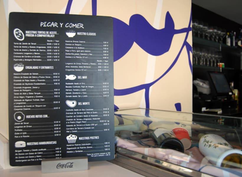 Cartas Restaurante Dommo 3