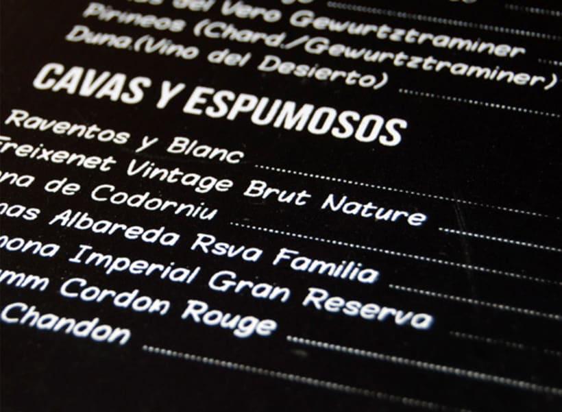 Cartas Restaurante Dommo 6