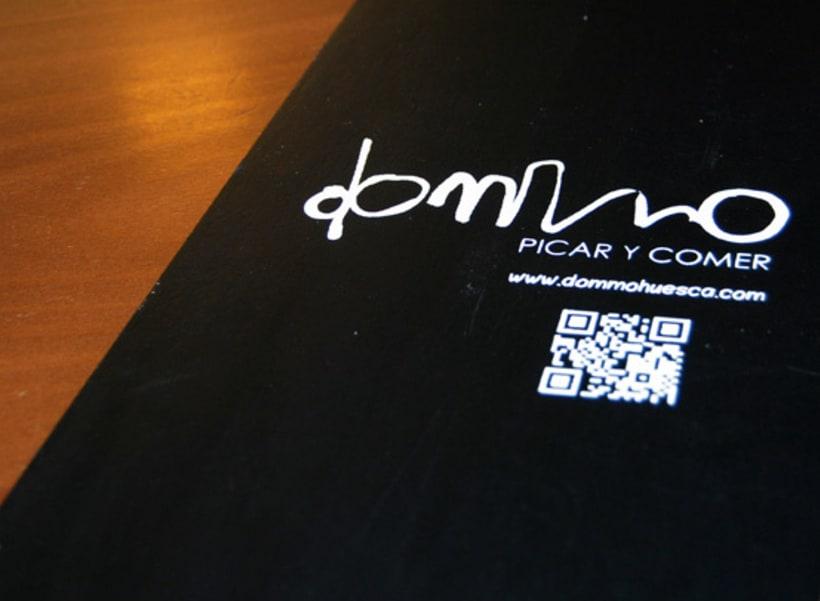 Cartas Restaurante Dommo 7