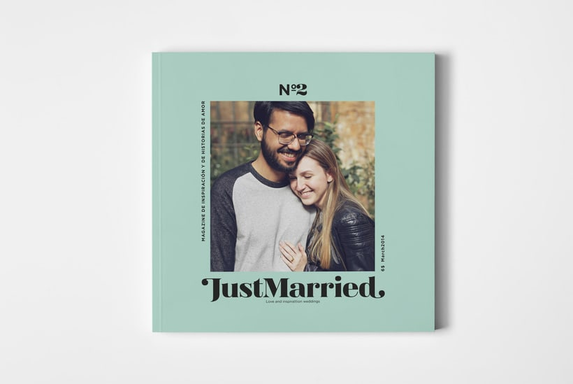 JustMarried - Love magazine 1