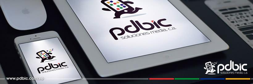 Logo e identidad corporativa PdBic 1