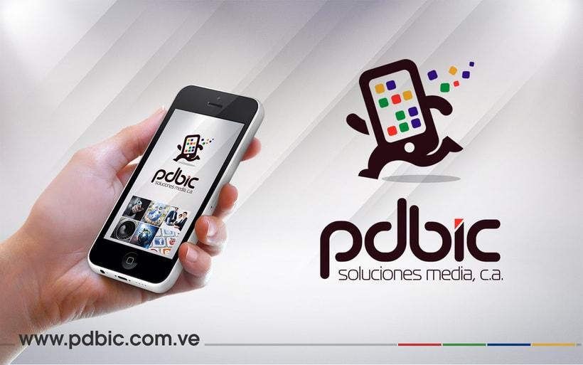 Logo e identidad corporativa PdBic 3