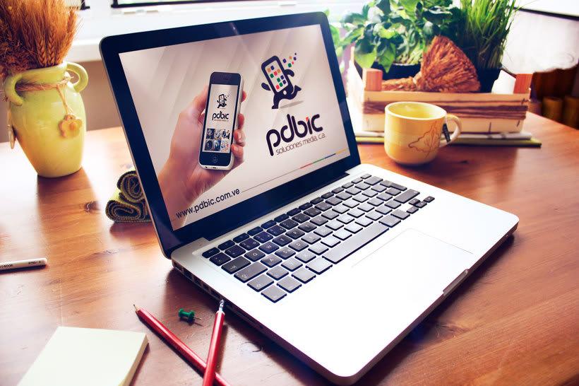 Logo e identidad corporativa PdBic 4