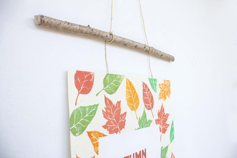 Handmade poster / Autumn is coming 5