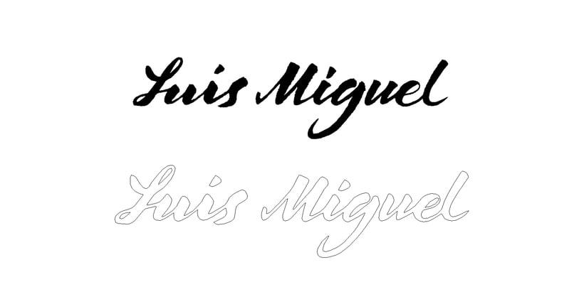 Logo Luis Miguel - Curso Caligrafía y Rock'n'Roll 2