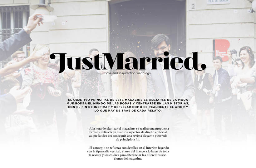 JustMarried - Love magazine 0