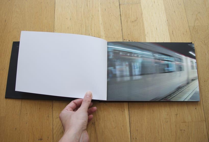 L1- Libro de fotografia sobre la línea 1 del metro de Barcelona. Proyecto.  0