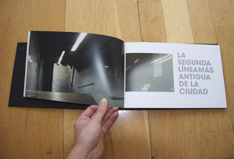L1- Libro de fotografia sobre la línea 1 del metro de Barcelona. Proyecto.  1
