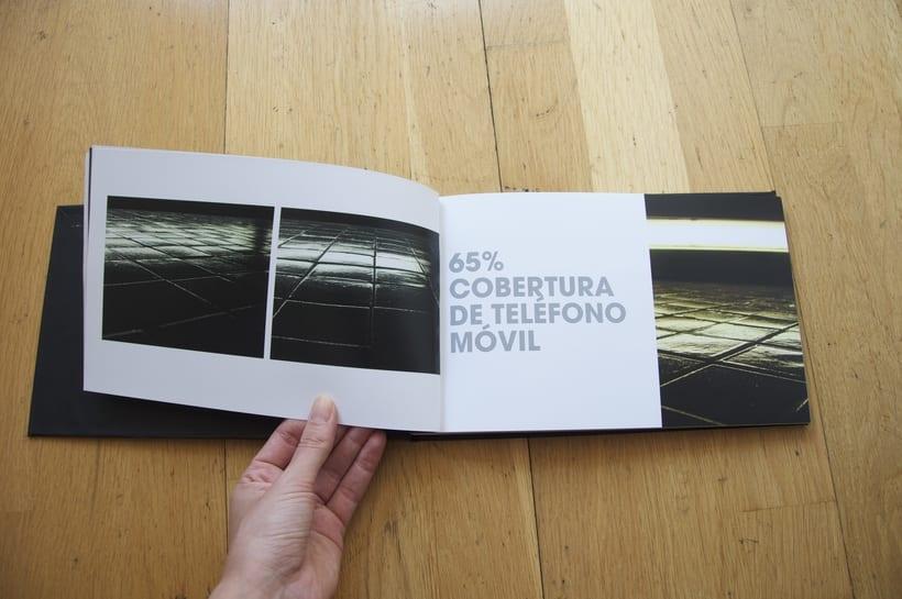 L1- Libro de fotografia sobre la línea 1 del metro de Barcelona. Proyecto.  2