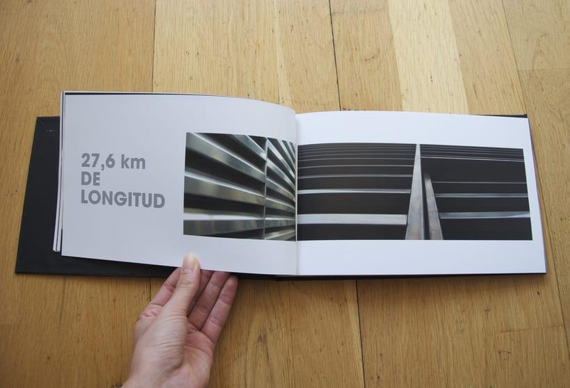 L1- Libro de fotografia sobre la línea 1 del metro de Barcelona. Proyecto.  3