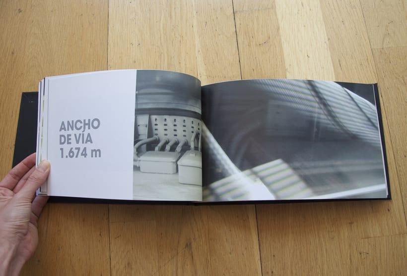 L1- Libro de fotografia sobre la línea 1 del metro de Barcelona. Proyecto.  4