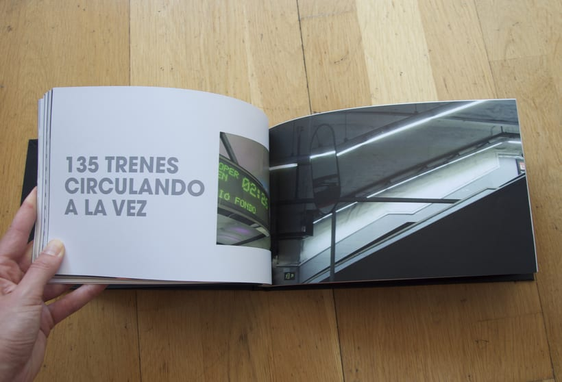L1- Libro de fotografia sobre la línea 1 del metro de Barcelona. Proyecto.  6