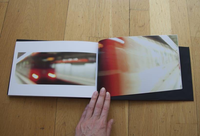 L1- Libro de fotografia sobre la línea 1 del metro de Barcelona. Proyecto.  7
