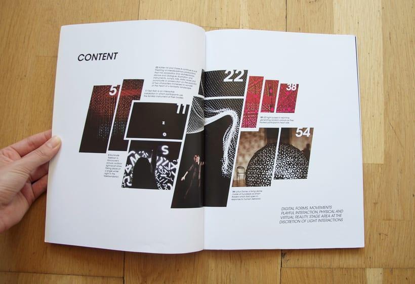 Diseño de Revista - concepto, logo, portada y indicé  1