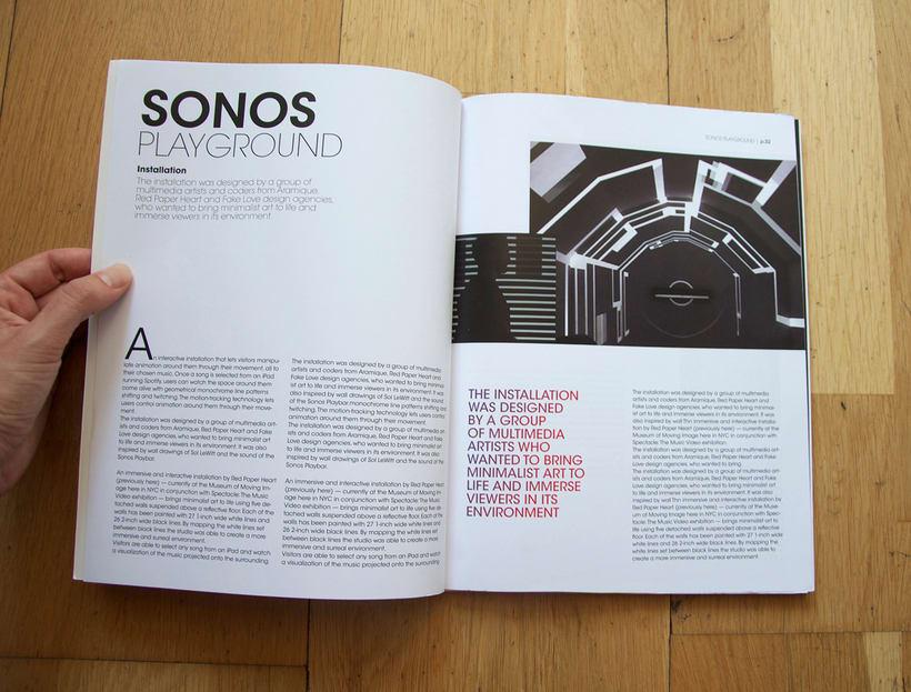 Diseño de Revista - concepto, logo, portada y indicé  2