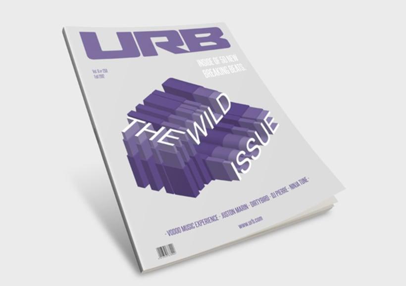 Illustration magazine cover 0