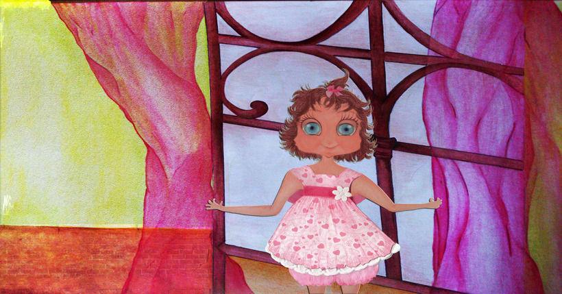 Ilustración  editorial -Cuento Infantil Ilustrado. 0