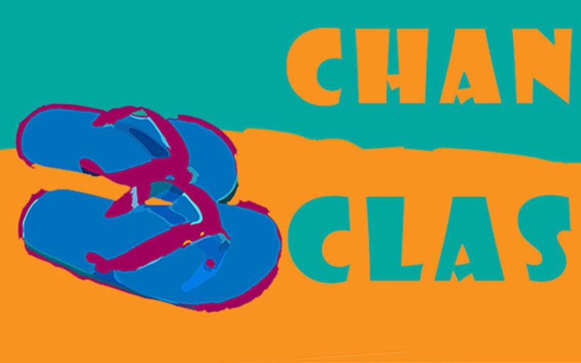 "Diseño imagen ""CHANCLAS"". -1"