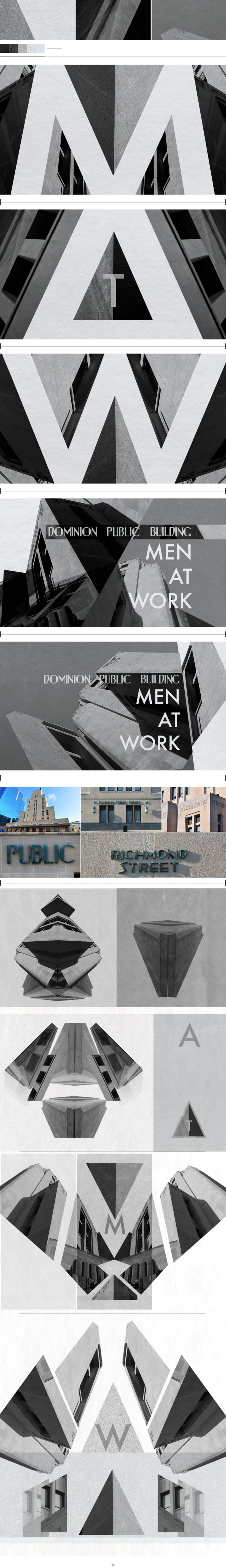 MEN AT WORK / DOMINION PUBLIC BUILDING 0