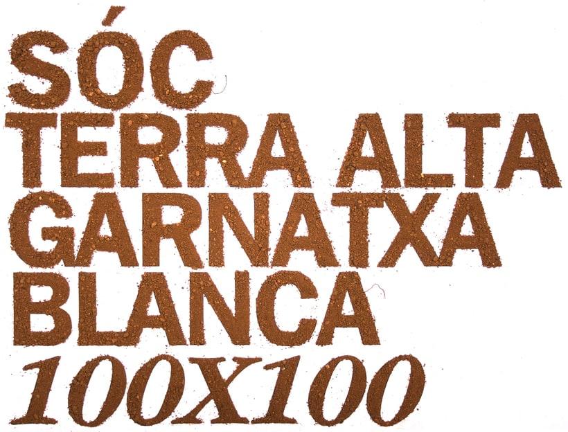 Logotip per a la denominació d'origen Terra Alta per als vins de 100% Garnatxa blanca 1