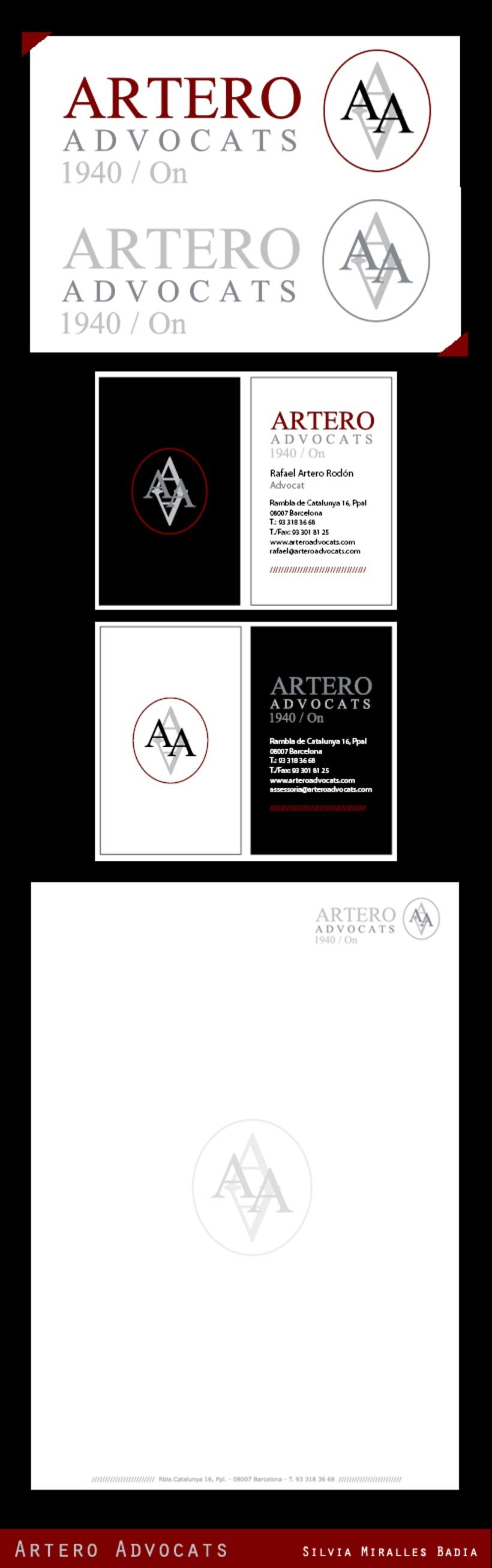 Artero Advocats /// #logo #branding 1