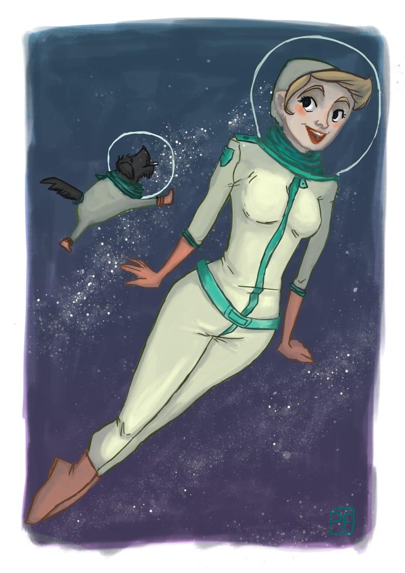 Un paseo espacial 0