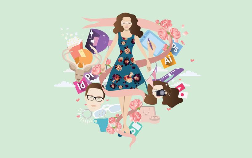 Mi project in Ilustración exprés con Illustrator y Photoshop course 3