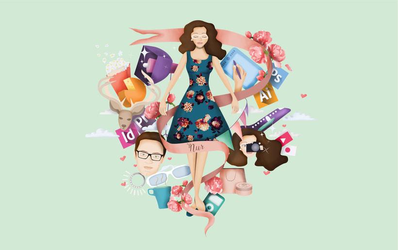 Mi project in Ilustración exprés con Illustrator y Photoshop course 4