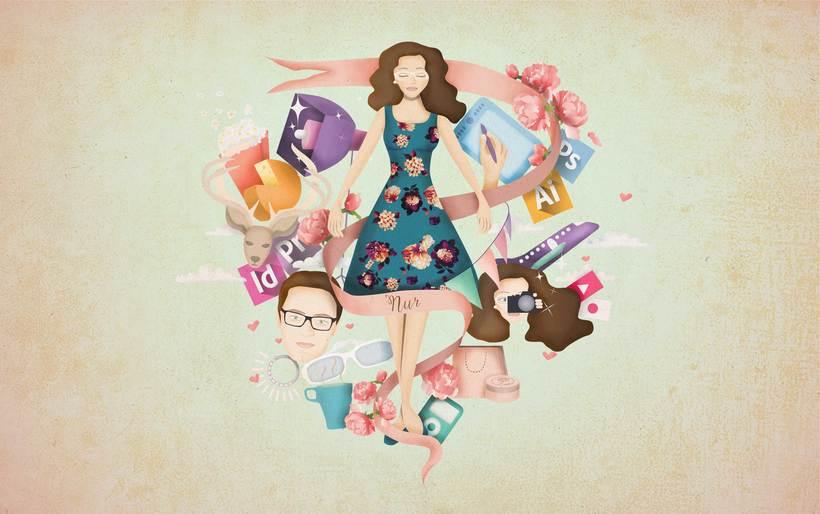 Mi project in Ilustración exprés con Illustrator y Photoshop course 5