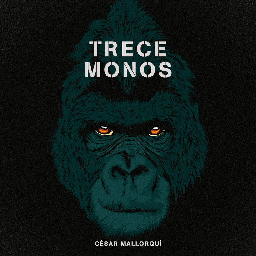 "Book cover ""Trece Monos"" 2"