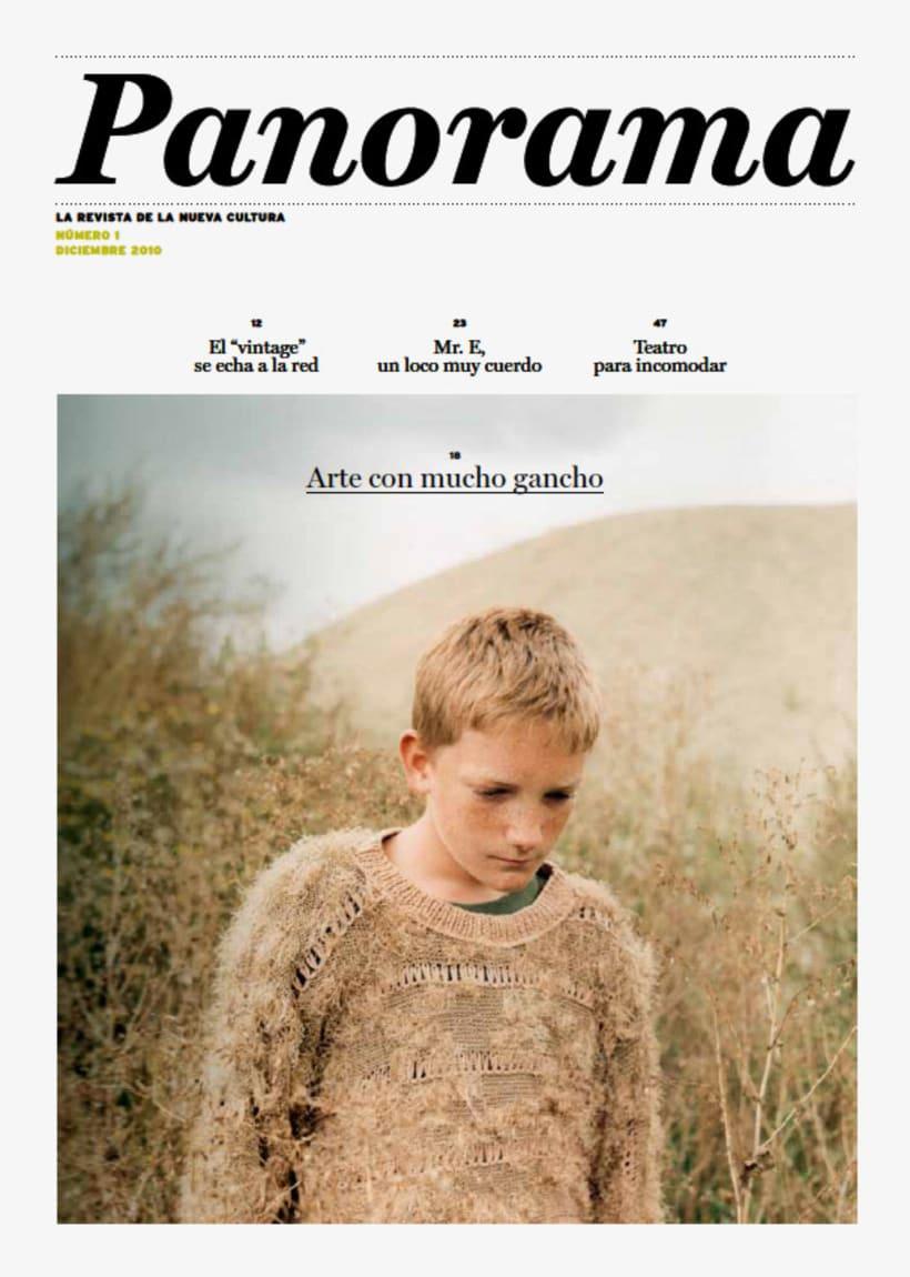Panorama: Proyecto editorial -1