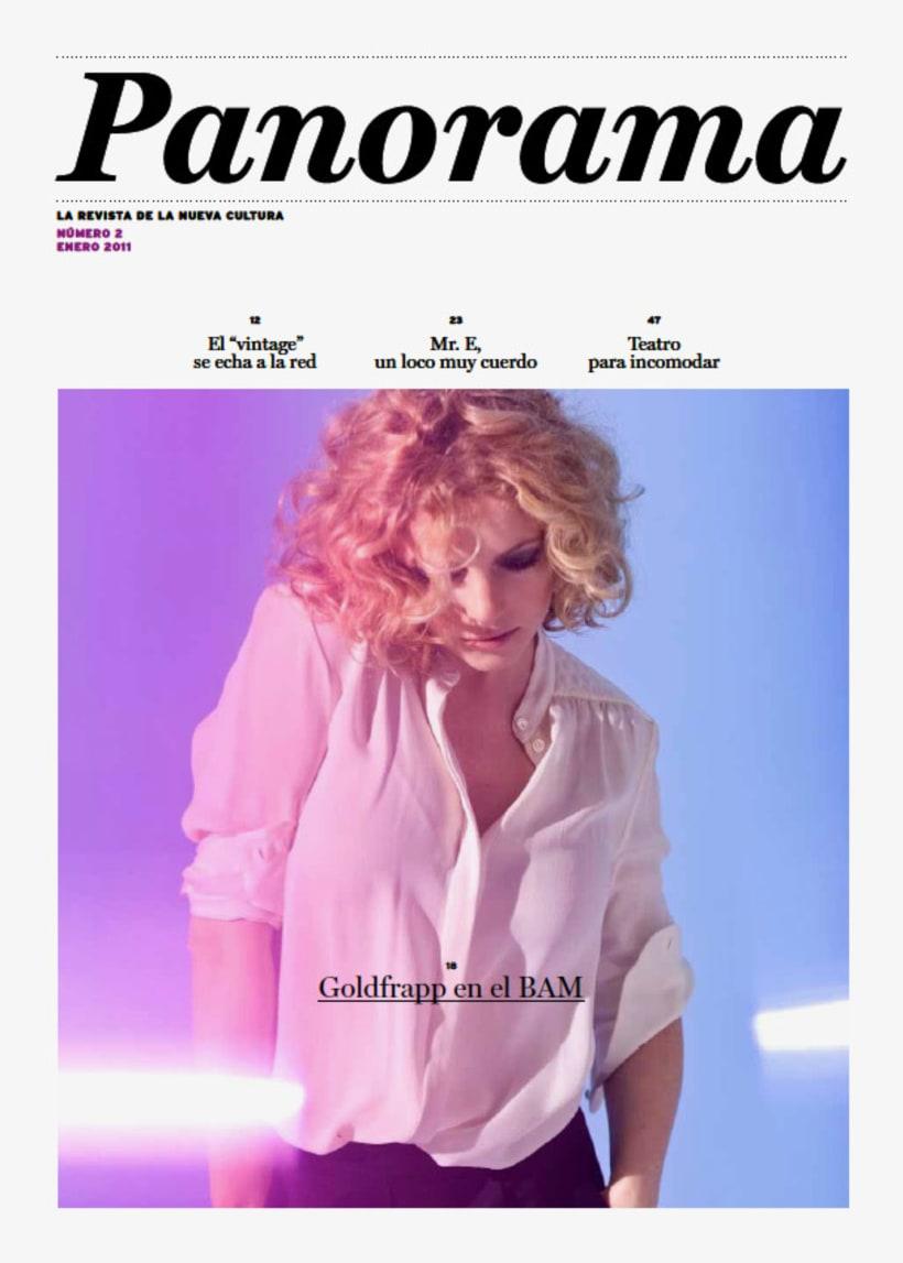 Panorama: Proyecto editorial 0