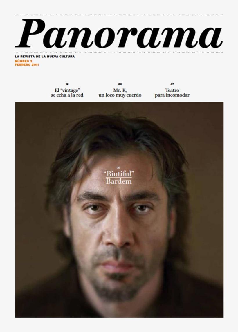 Panorama: Proyecto editorial 1