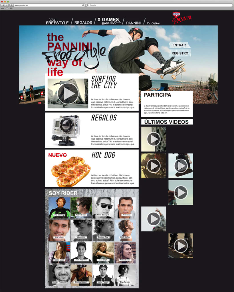 Pannini: diseño web 3