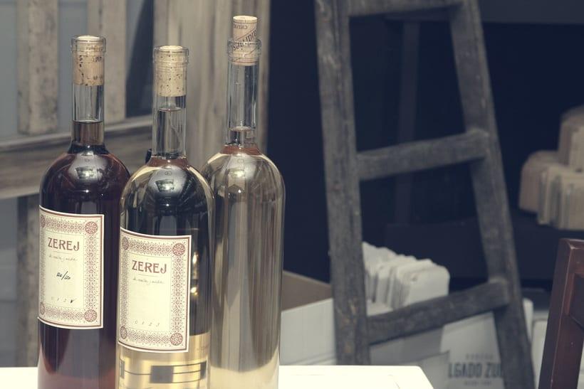 ZEREJ - Diseño para colección de vinos de Jerez 0