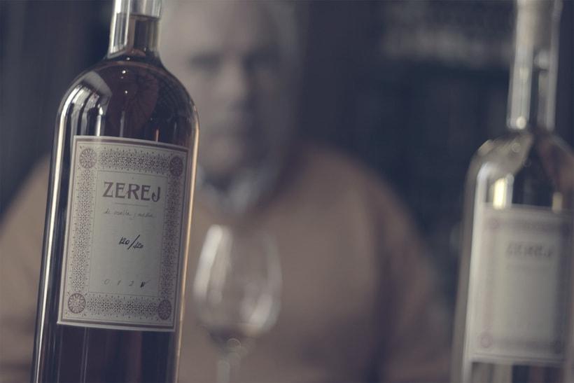 ZEREJ - Diseño para colección de vinos de Jerez 1