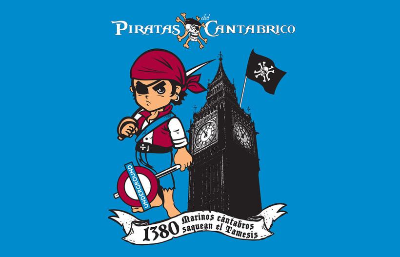 Camisetas PIRATAS DEL CANTÁBRICO 10