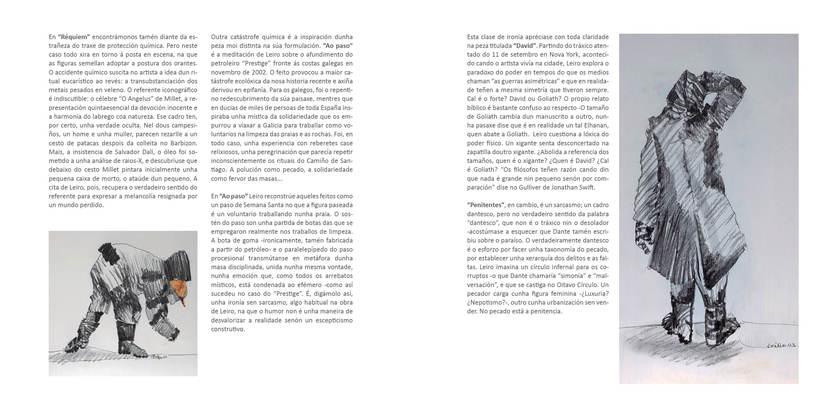 """CATALOGO FRANCISCO LEIRO """" ESCULTURAS SENTIDAS"""" 6"""