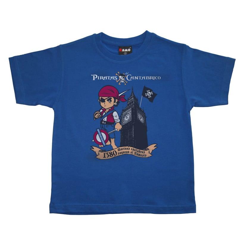 Camisetas PIRATAS DEL CANTÁBRICO 11