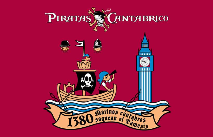 Camisetas PIRATAS DEL CANTÁBRICO 12